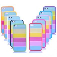 """Чехол пластиковый для iPhone 5 """"Rainbow"""""""