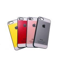 """Чехол пластиковый для iPhone 5 """"Белая полоска"""""""