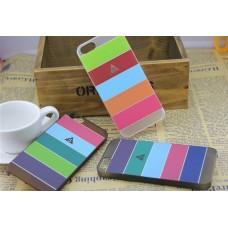 """Чехол пластиковый """"Полоски"""" для iPhone 5 (10 расцветок)"""