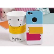 """Чехол пластиковый для iPhone 5 """"Жалюзи"""" (10 цветов)"""