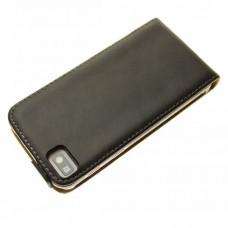 Чехол кожаный для BlackBerry Z10