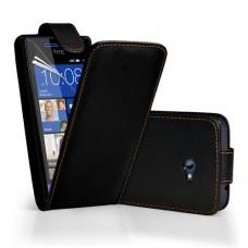 """Чехол кожаный для HTC Windows Phone 8X """"Вертикальный флип"""""""