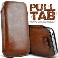 """Чехол кожаный для HTC Butterfly S """"Pull Tab"""""""