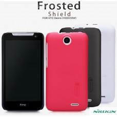 "Чехол пластиковый для HTC Desire 310 Nillkin Matte ""Person"" + защитная пленка в подарок!"