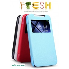 "Чехол для HTC Desire 310 Nillkin Fresh Series ""Sugary"" кожа+пластик"