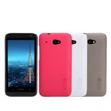 """Чехол пластиковый для HTC Desire 601 """"Refinement"""" Nillkin + защитная пленка в подарок!"""