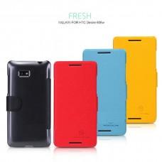 "Чехол для HTC Desire 600 / 606w ""Sugar"" Nillkin  пластик+кожа"