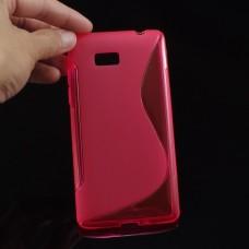 """Чехол силиконовый для HTC Desire 600 """"Wave"""""""