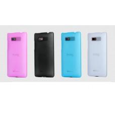 "Чехол пластиковый для HTC 600 ""Matted"""