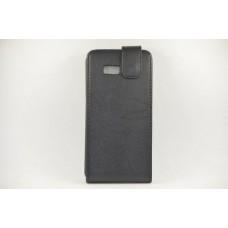"Чехол кожаный для HTC Desire 600 ""Black"""