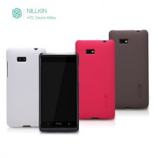 """Чехол пластиковый для HTC Desire 600/606W """"Enjoyable"""" Nillkin + защитная пленка в подарок!"""