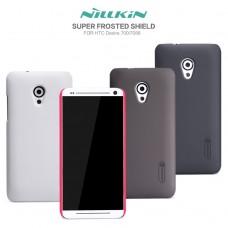 """Чехол пластиковый для HTC Desire 700 Nillkin """"Security"""" + защитная пленка в подарок!"""