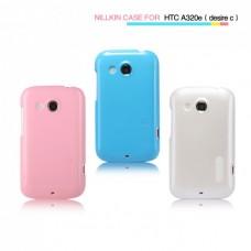"""Чехол пластиковый для HTC Desire C Nillkin """"Sharp"""" + Защитная пленка в подарок!"""
