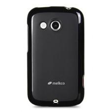 """Чехол полиуретановый для HTC Desire C Melkco """"Pritty"""" + Защитная пленка в подарок!"""