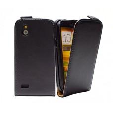 Чехол кожаный для HTC Desire V / Desire X