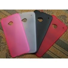 """Чехол силиконовый для HTC One 4.5"""" (4 цвета)"""