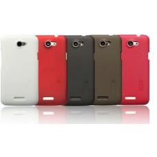 """Чехол пластиковый для HTC One X S720 """"Lux"""" Nillkin+защитная пленка в подарок!"""