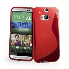 "Чехол полиуретановый для HTC New One 2 / M8  ""Julia"""