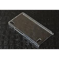 "Чехол пластиковый для Huawei Ascend P6 ""Crystal"""