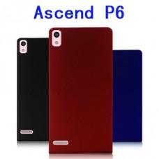 "Чехол пластиковый для Huawei Ascend P6 ""Soft Touch"""