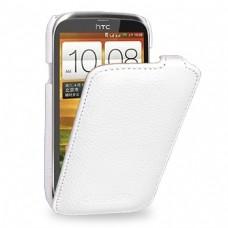 """Чехол кожаный   для HTC Desire V / Desire X TETDED """"Flipper"""""""