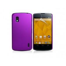 """Чехол пластиковый для LG Google Nexus 4 """"Матовый"""""""