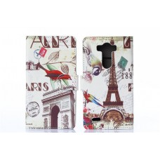 "Чехол для LG G3 ""Eiffel Tower"" искусственная кожа"