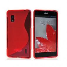 """Чехол силиконовый для LG Optimus G E975/E973 """"Wave"""""""