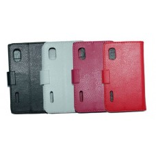 "Чехол кожаный для LG Optimus L5 E612 4"" (2 цвета)"
