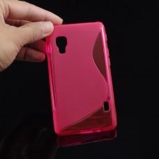 """Чехол силиконовый для LG Optimus L5 II  """"LG-Wave"""""""