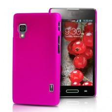 """Чехол пластиковый для LG Optimus L5 II """"Матовый"""""""