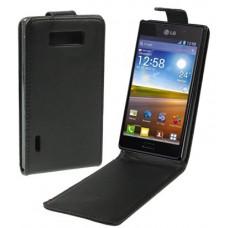 Чехол кожаный для LG Optimus L7