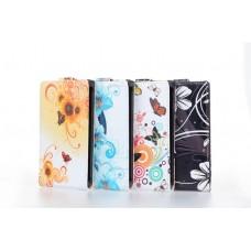 "Чехол кожаный для LG Optimus L7 ""Charming Flowers"""