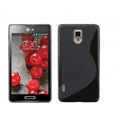 """Чехол силиконовый для LG Optimus L7 II """"Wave"""""""