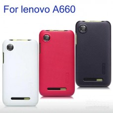 """Чехол пластиковый для Lenovo A660 """"Glorious"""" Nillkin + защитная пленка в подарок!"""