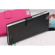 """Чехол кожаный для Lenovo K900 """"Luxury"""""""