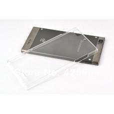 """Чехол пластиковый для Lenovo K900 """"Invisible"""" + защитная пленка в подарок!"""