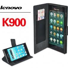 "Чехол кожаный для Lenovo K900 ""High-End"""