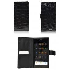 """Чехол кожаный для  Lenovo K900  """"Alpina"""""""
