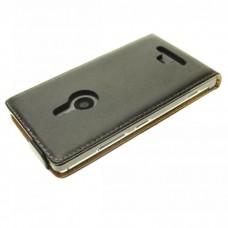 """Чехол кожаный для Nokia Lumia 925 """"Flip-2"""""""