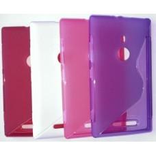 """Чехол силиконовый для Nokia Lumia 925 """"Wave"""""""