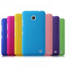 """Чехол пластиковый для Nokia Lumia 630/635 """"Soft Velvet"""""""
