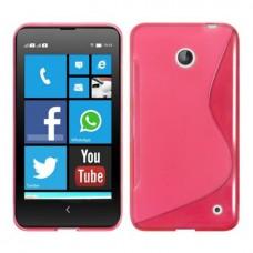 """Чехол силиконовый для Nokia Lumia 630/635 """"Flying Wave"""""""