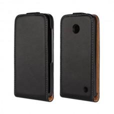 "Чехол кожаный для Nokia Lumia 630/635 ""Exquisite"""