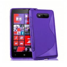 """Чехол силиконовый для Nokia Lumia 820 """"Wave"""""""