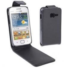 Чехол кожаный для Samsung Galaxy Ace Duos