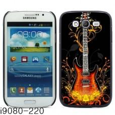 Чехол алюминиевый для Samsung Galaxy Grand I9080 «Fiery Guitar»
