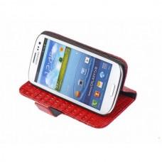 Чехол кожаный для Samsung Galaxy S3 i9300 (3 цвета)