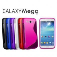 """Чехол силиконовый для Samsung Galaxy Mega 5.8 I9150 """"Waves"""""""