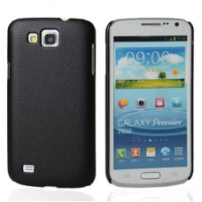 "Чехол пластиковый для Samsung Galaxy Premier i9260 ""Leather"""